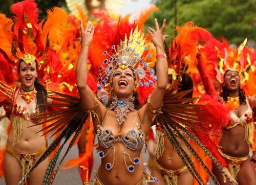 Карнавал в Рио! Парад чемпионов!