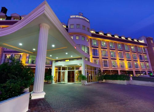 PGS HOTELS ROSE RESIDENCE BEACH 5*